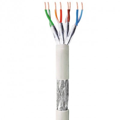 S/FTP Roll cable Cat.6 CCA 100m Stranded PIMF LSOH - Techly Professional - ITP9-RIS-0100LE-1