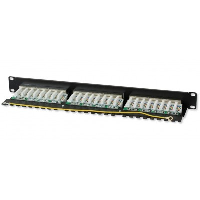 Patch Panel STP 24 Ports RJ45 Cat.6 Techly - Techly Professional - I-PP 24-RS-C6T-2