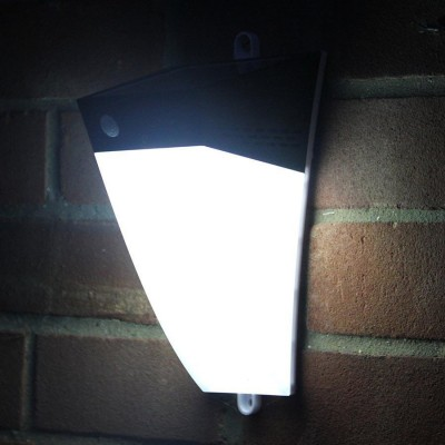 Applique LED Solare a Muro da Esterno con Sensore di Movimento - Techly Np - I-LAMP-SLE32-3
