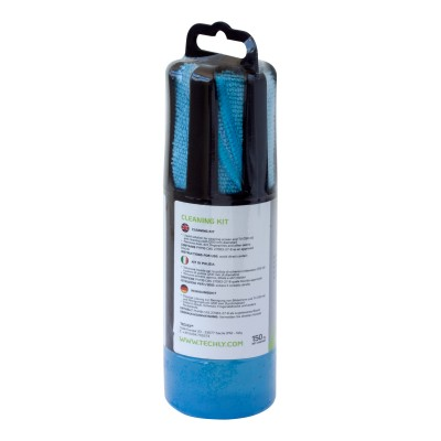 Cleaning Kit for Monitor 150ml with Microfiber Cloth - Techly - ICSB-CS5005BLTY-2
