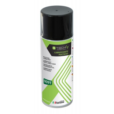 High Performance Lubricant Spray 400ml - Techly - ICA-CA 009T-1