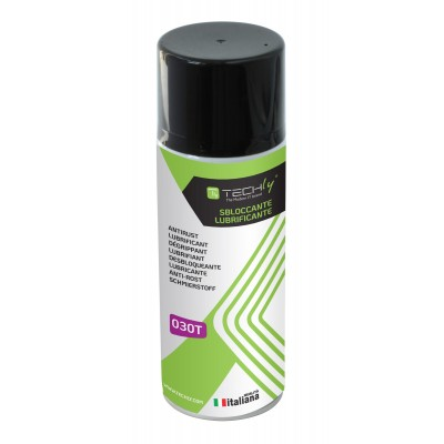 Degreaser Lubricant Spray 400ml - Techly - ICA-CA 030T-0