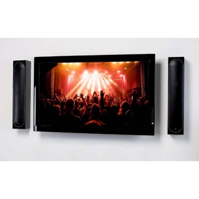 Couple Speakers Wall Brackets up to 25kg Black - Techly - ICA-SP SS201-6