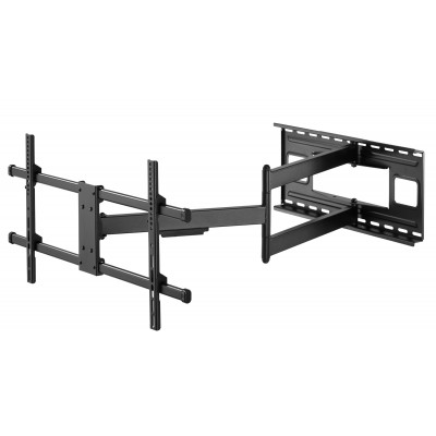 """Wall Bracket Extendable Arm up to 1015 mm for LCD 43-80"""" Black - Techly - ICA-PLB 490-2"""