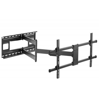 """Wall Bracket Extendable Arm up to 1015 mm for LCD 43-80"""" Black - Techly - ICA-PLB 490-1"""