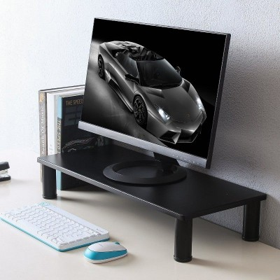 Monitor / Laptop Desk Stand Black - Techly - ICA-MS 481-1