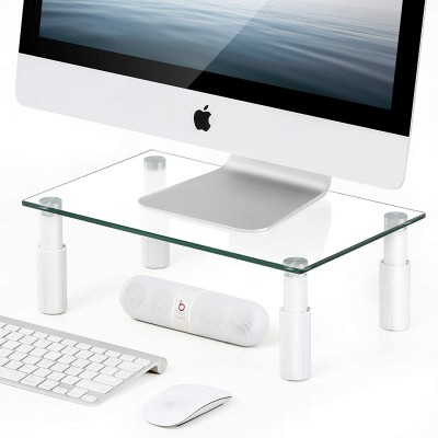 Glass Stand for Monitor / Laptop - Techly - ICA-MS 461E-3