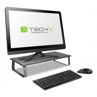 Universal Desk Stand in Steel for Monitor/Laptop - Techly - ICA-MS 600TY-5