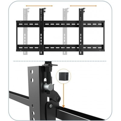 "45""-70"" Wall Bracket for LED TV LCD for VideoWall application - Techly Np - ICA-PLB 046F-4"