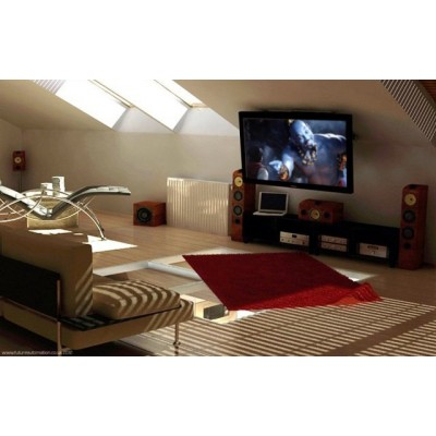 """Fold-up TV Ceiling Mount for TV LED LCD 17-37"""" - Techly - ICA-CPLB 08-5"""