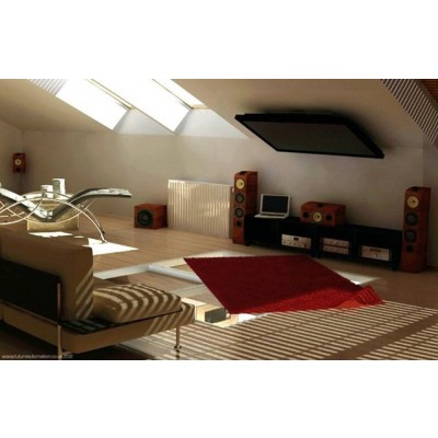 """Fold-up TV Ceiling Mount for TV LED LCD 17-37"""" - Techly - ICA-CPLB 08-4"""