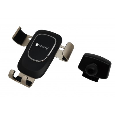 In-Car Smartphone holder with gravity system - Techly - I-SMART-UNI-GRAV-2