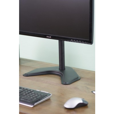 """Desk Stand for 1 Monitor 13 """"-27"""" with Base h.465mm - Techly - ICA-LCD 2500-8"""
