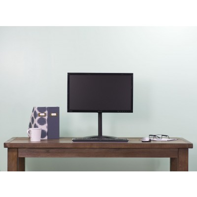 "Desk Stand for 1 Monitor 13 ""-27"" with Base h.465mm - Techly - ICA-LCD 2500-6"