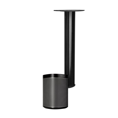 Adjustable Ceiling Mount for Sonos Play 1 black - Techly Np - ICA-SP SSCL01-2