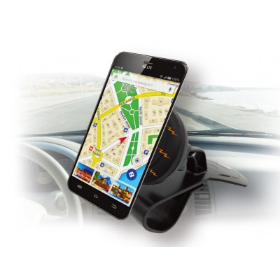 Car Magnetic Mount Holder for Smartphone - Techly - I-SMART-HUD-1