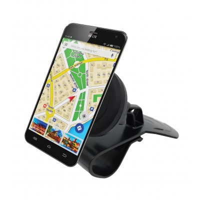 Car Magnetic Mount Holder for Smartphone - Techly - I-SMART-HUD-4