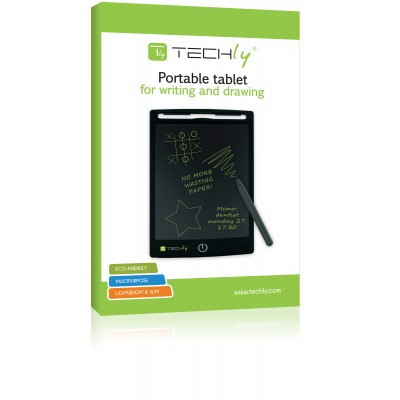 Portable tablet for writing and drawing  - Techly - IDATA GT-85B-1