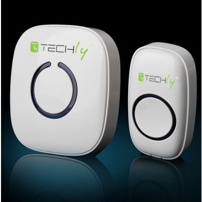 Wireless Doorbell with Remote Control up to 300 m - Techly - I-BELL-RING01-2