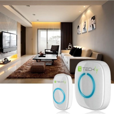 Wireless Doorbell with Remote Control up to 300 m - Techly - I-BELL-RING01-3