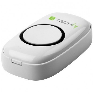 Wireless Doorbell with Remote Control up to 300 m - Techly - I-BELL-RING01-5