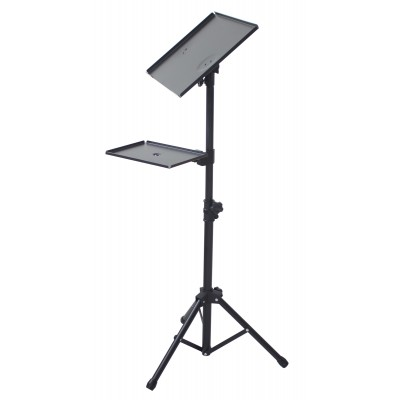 Tripod for Laptops and Projectors with additional Shelf - Techly - ICA-TB TPM-9-11