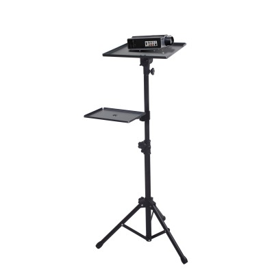 Tripod for Laptops and Projectors with additional Shelf - Techly - ICA-TB TPM-9-3
