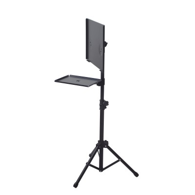 Tripod for Laptops and Projectors with additional Shelf - Techly - ICA-TB TPM-9-5