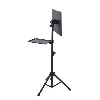 Tripod for Laptops and Projectors with additional Shelf - Techly - ICA-TB TPM-9-9