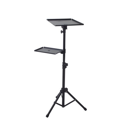Tripod for Laptops and Projectors with additional Shelf - Techly - ICA-TB TPM-9-7