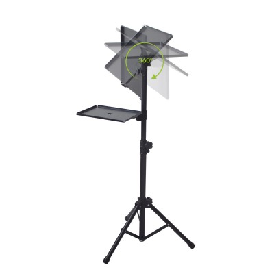 Tripod for Laptops and Projectors with additional Shelf - Techly - ICA-TB TPM-9-4