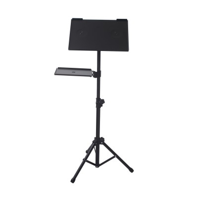 Tripod for Laptops and Projectors with additional Shelf - Techly - ICA-TB TPM-9-10