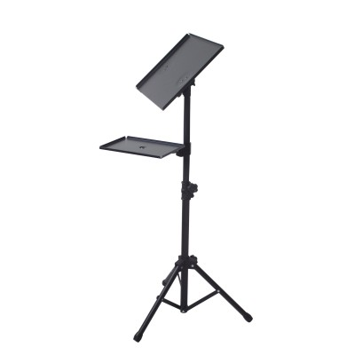 Tripod for Laptops and Projectors with additional Shelf - Techly - ICA-TB TPM-9-6