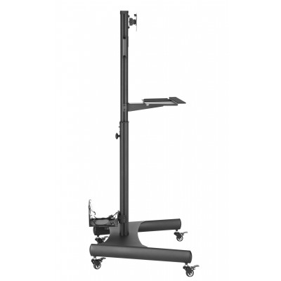 """Floor Trolley with Shelf and CPU Holder for LCD/LED/Plasma TV 13-32"""" - Techly - ICA-TR41-2"""