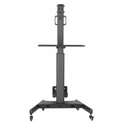 """Floor Trolley with Shelf and CPU Holder for LCD/LED/Plasma TV 13-32"""" - Techly - ICA-TR41-3"""