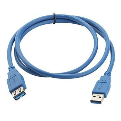 Extension USB 3.0 Cable A Male / A Female 3m Blue - Techly - ICOC U3-AA-30-EX-5