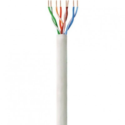 U/UTP Roll Cable Cat.6 CCA 100m Stranded - Techly Professional - ITP9-FLU-0100-1