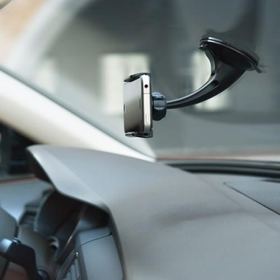 "Car Holder for iPhone and Smartphone 3.5"" - 5.5"" with Suction - Techly - I-SMART-VENT5-6"