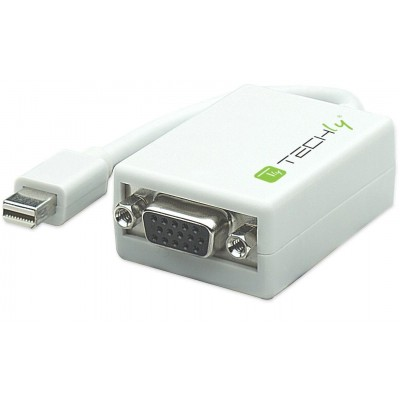 Mini DisplayPort (Thunderbolt) 1.1 / VGA 15cm White - Techly - IADAP MDP-VGAF-1