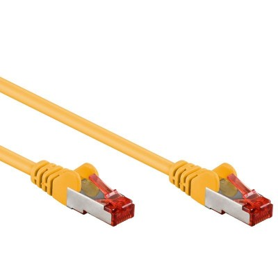Network Patch Cable in CCA Cat.6 F/UTP 3m Yellow Bulk - Techly Professional - ICOC CCA6F-030-YE-1