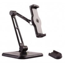 "Desk and Wall Extensible Support for Tablet and iPad 4.7""-12.9"" - Techly - ICA-TBL 2801"