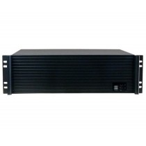 """Industrial 19"""" Rack Chassis 3U Ultra Compact Black - Techly - I-CASE IPC-338"""