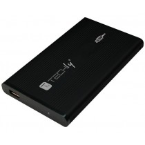 "Box External Hard Drive IDE 2.5 ""USB 2.0 Black - Techly - I-CASE IDE-251TY"