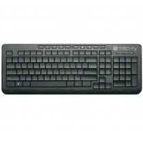 2.4G Wireless Multimedia Keyboard Black KB-300W - Techly - IDATA KB-300W