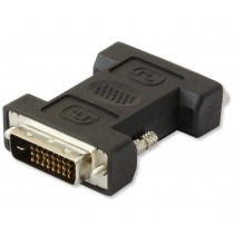 DVI-I to DVI-D Male Female Adapter - Techly - IADAP DVI-9000