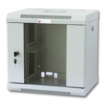 """Wall Rack Cabinet 10"""" 6 unit with removable panels Grey - Techly Professional - I-CASE EM-1006GPTY"""