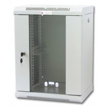 "Wall Rack Cabinet 10"" 9 unit with removable panels Grey  - Techly Professional - I-CASE EM-1009GPTY"