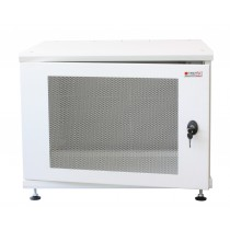 "19"" Rack Cabinet Ideal for Photovoltaic Accumulators 8U P600mm White - Techly Professional - I-CASE EE-2008WH6"
