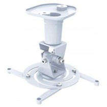 Universal Ceiling Bracket for Projector, White - Techly - ICA-PM 100WH