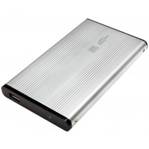 "External Box HDD SATA 2.5"" USB 2.0 Grey - Techly - I-CASE SU-25-WS"